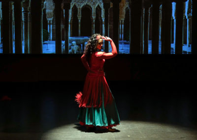 Pilar-Domínguez-espectaculo-flamenco-Encuentro-de-la-cultura-andalusi-al-flamenco-baile-oriental